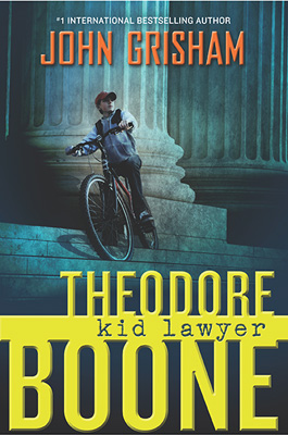 Theodore Boone: Kid Lawyer book cover image