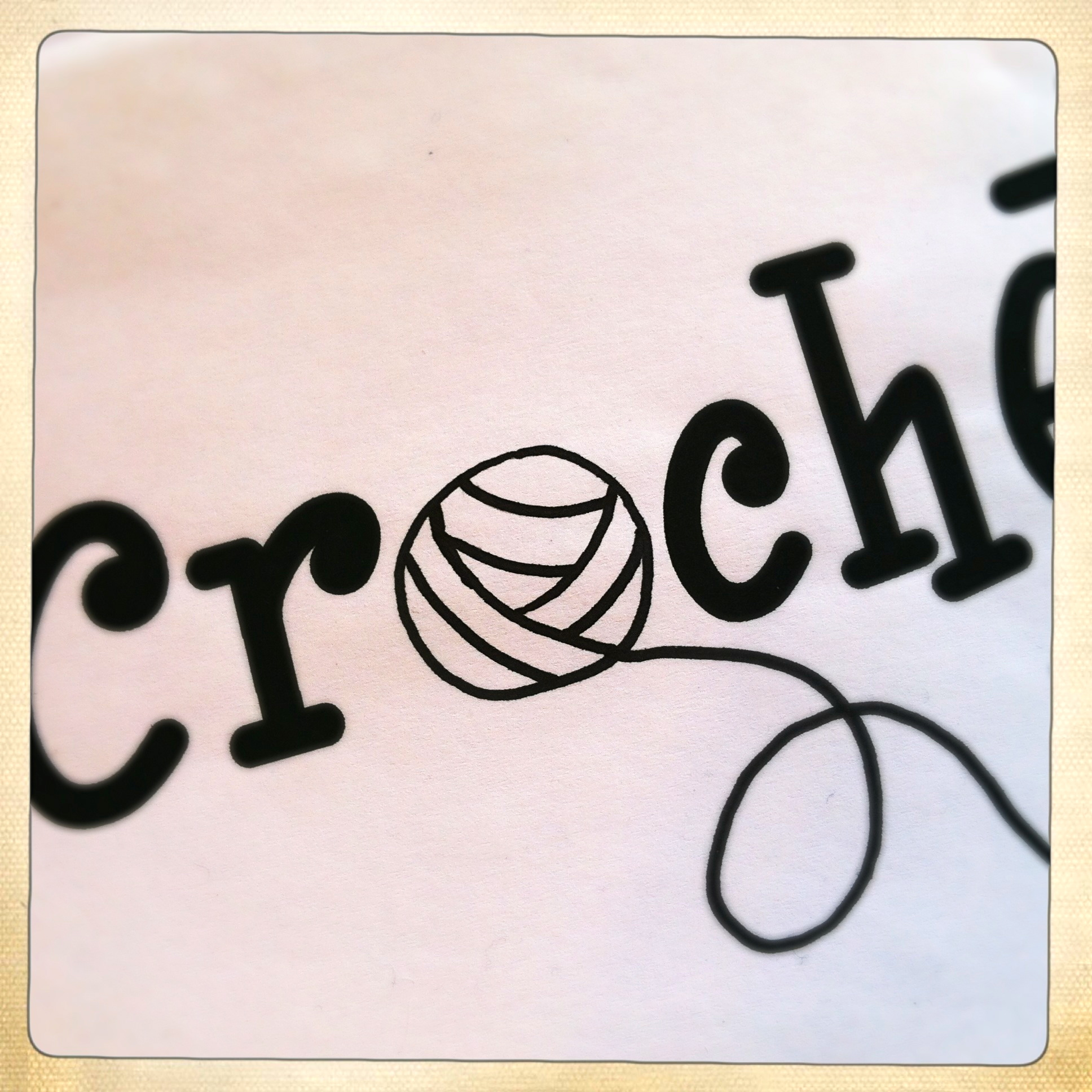 Crochet Logo : Evolution of the Original Crochet Me Logo (in Hard Copy!) - Kim Werker