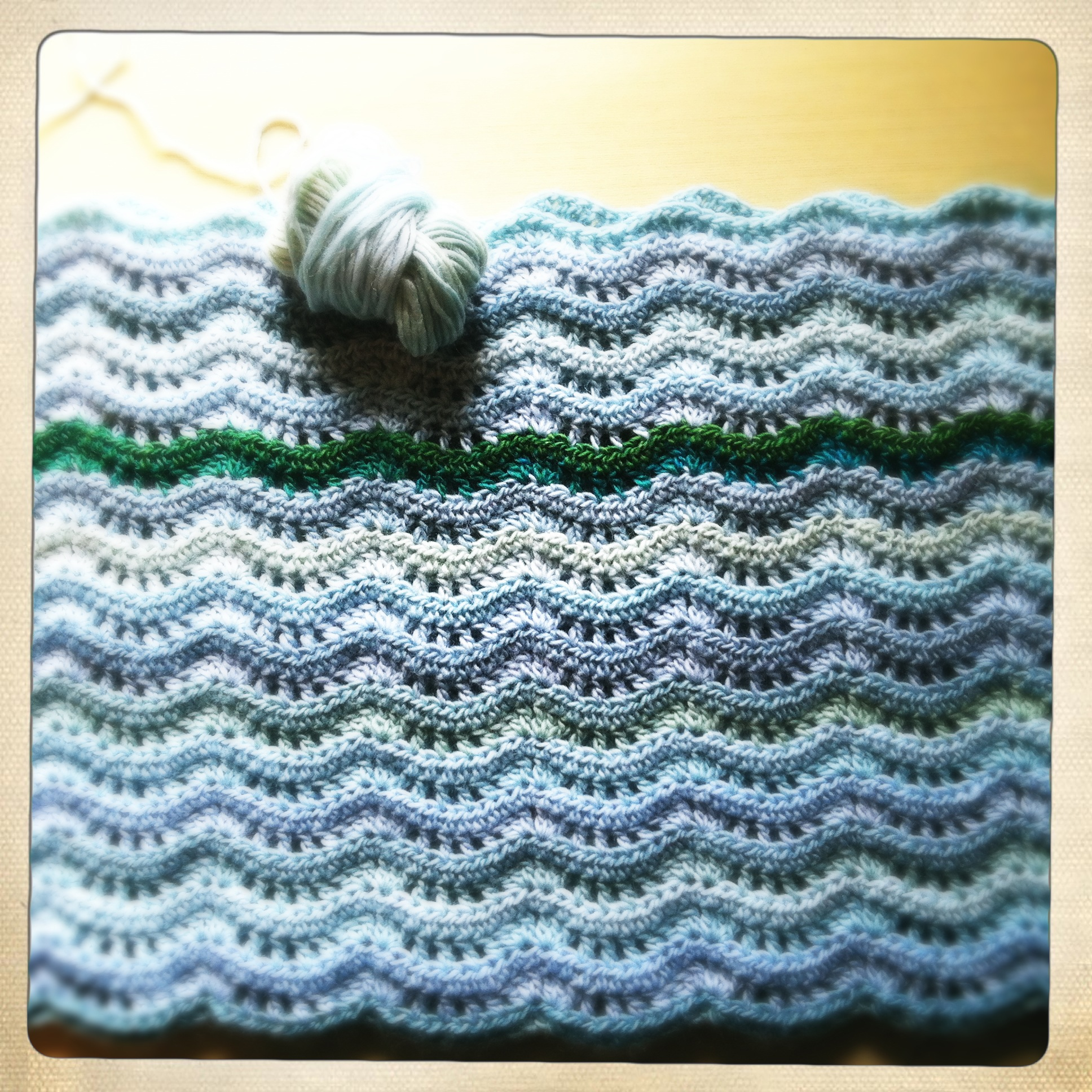 A Blanket and a Pillow: WIP Wednesday