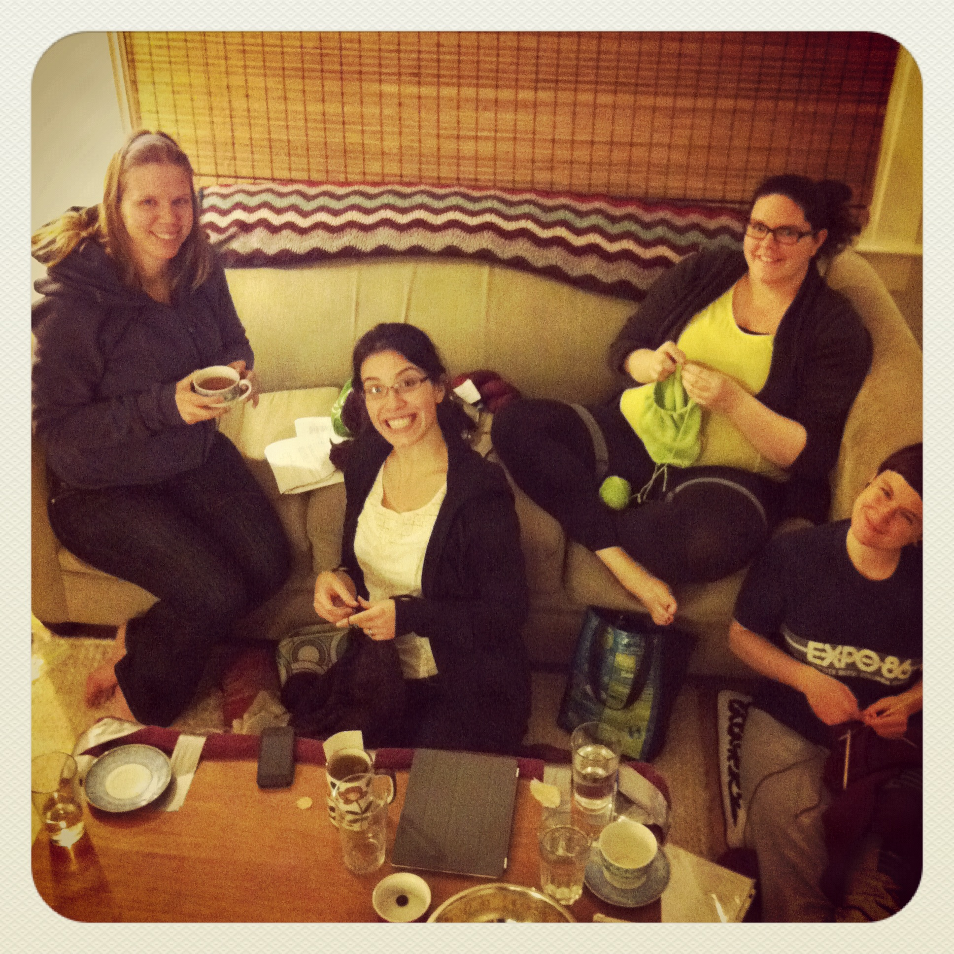 At-home Knitting Retreat