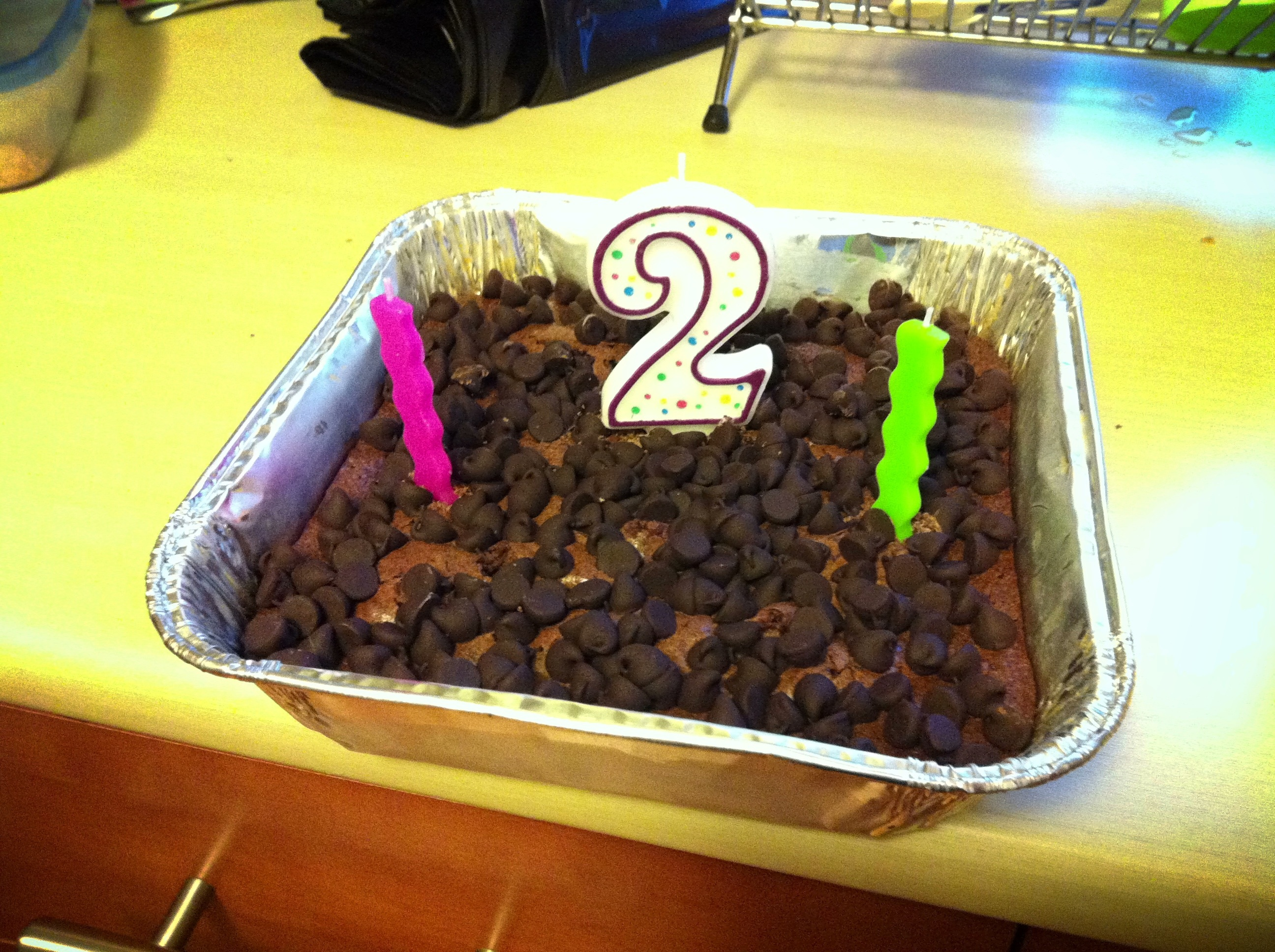 Brownies for a Two-year-old