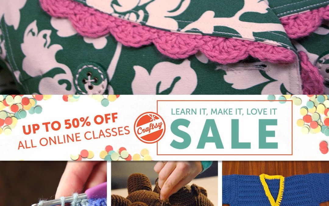 National Craft Month: Class and Ebook Sale!