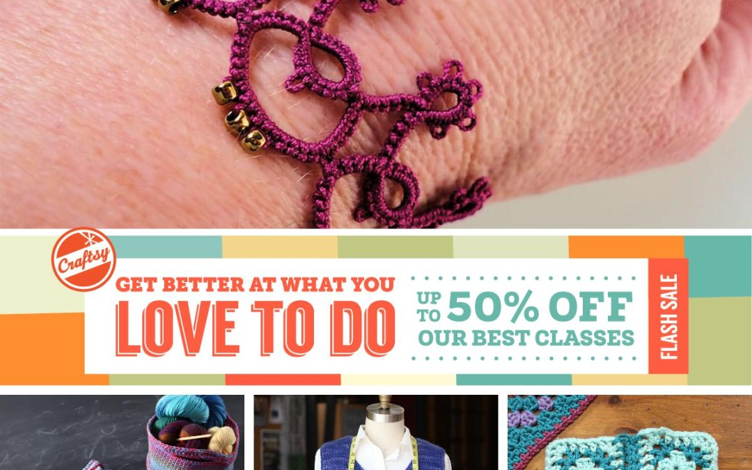 Craftsy Flash Sale!