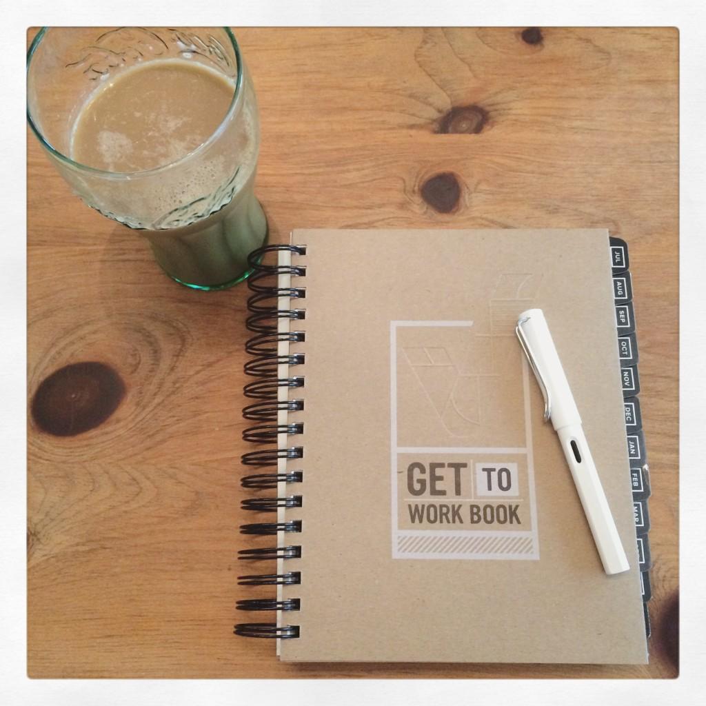 Get to Work Book & Bullet Journaling