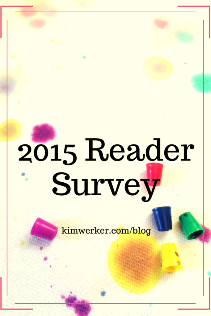 image for 2015 Reader Survey