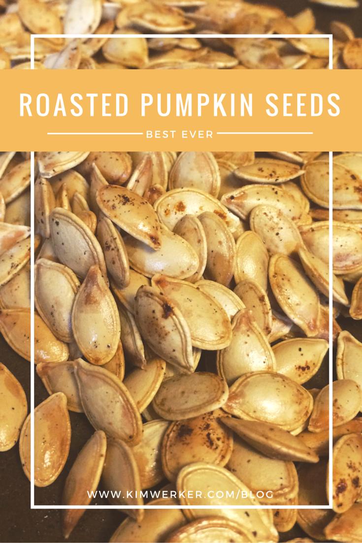 how do you make roasted pumpkin seeds