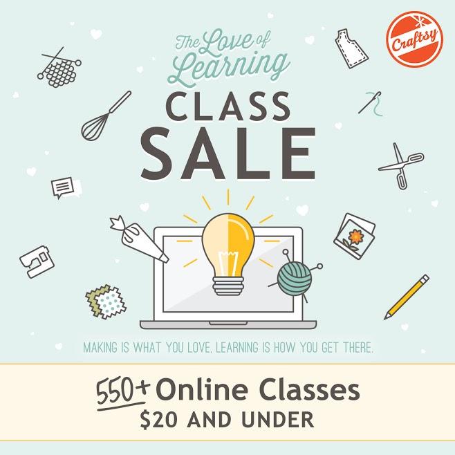 Craftsy sale image